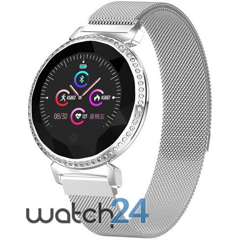 Smartwatch Generic functii multiple, Bluetooth, Notificari, ecran LED, detectare ritm cardiac, funct